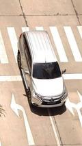 Mitsubishi Pajero Sport teased again, photographed undisguised