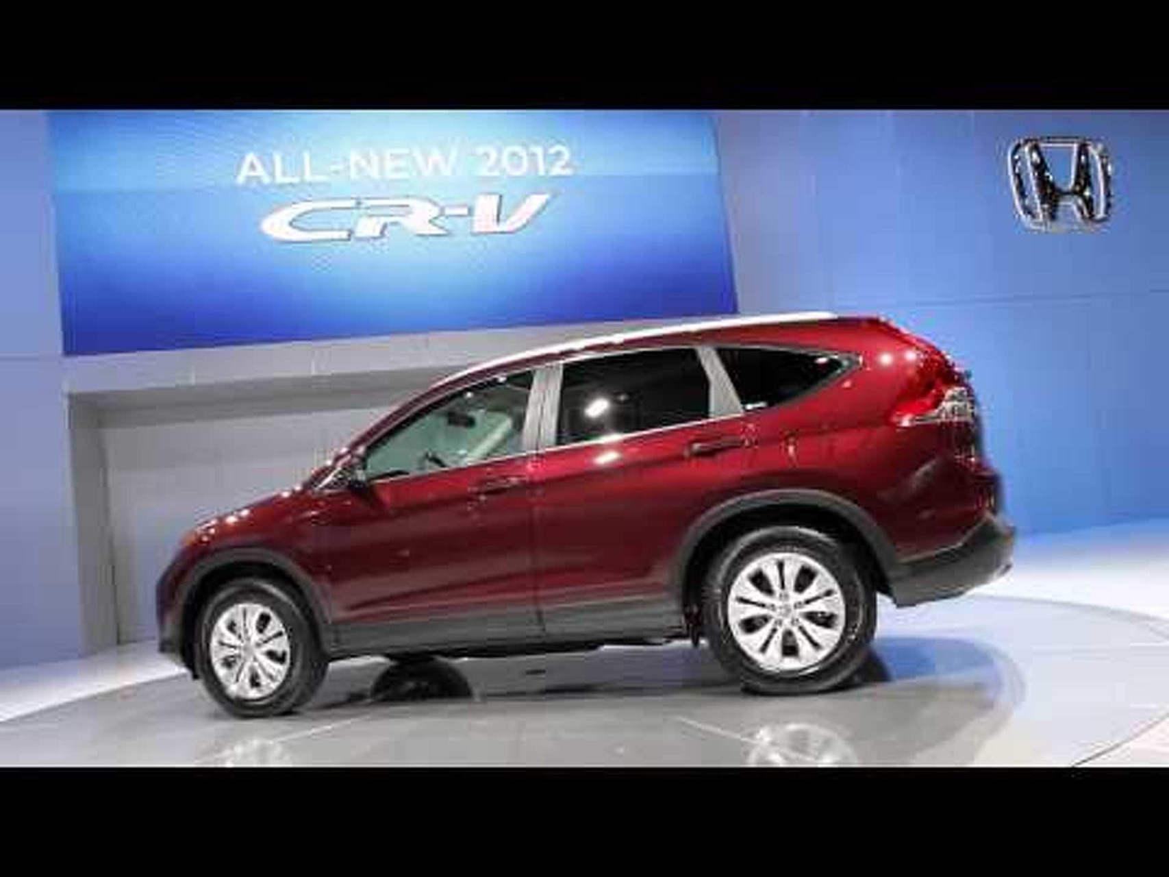 2012 Honda CR-V at the 2011 LA Auto Show