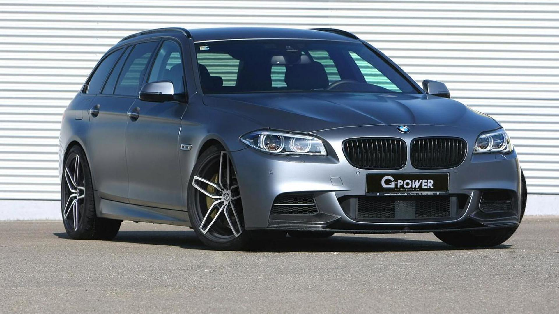 G-Power tuned BMW M550d sets a record for being the fastest diesel-powered BMW wagon