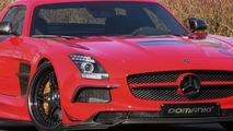 Mercedes-Benz SLS AMG Black Series gets 800 HP from Domanig