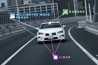 Toyota Tests Self-Driving Car on the Open Road