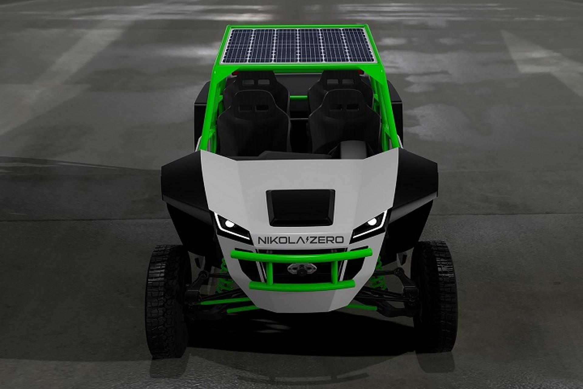 Nikola Motor is Building a 520-HP Electric  UTV