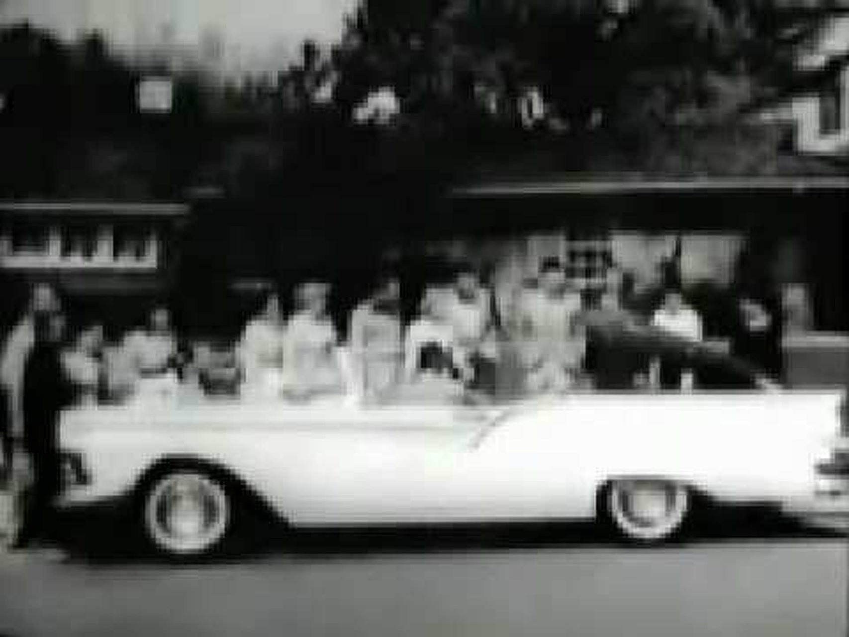1957 Ford Skyliner Hideaway Hardtop Car Commercial