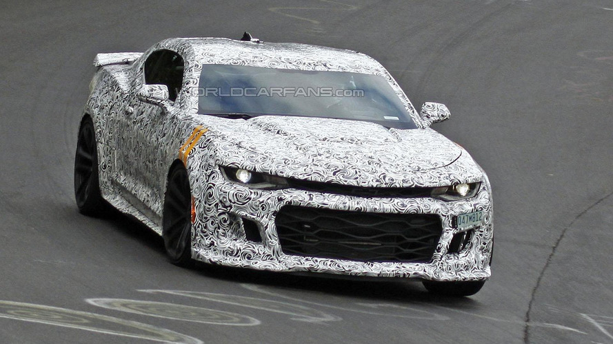 2017 Chevrolet Camaro ZL1 spied on the Ring, could have 600+ bhp