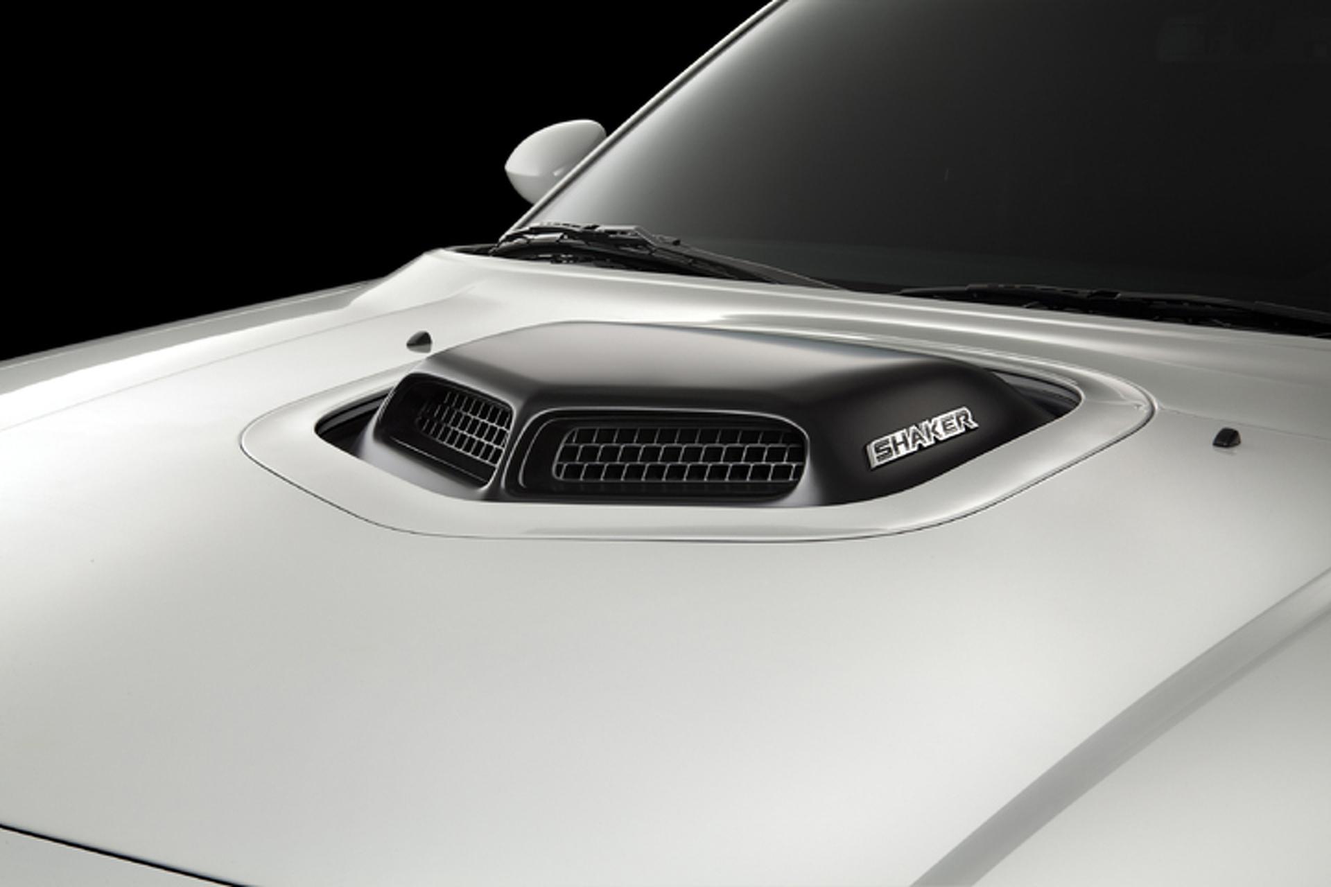 Dodge Lets It All Hang Out With Mopar Challenger Shaker Hood Kit
