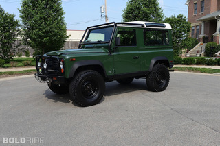 Your Ride: 1995 Land Rover Defender D90