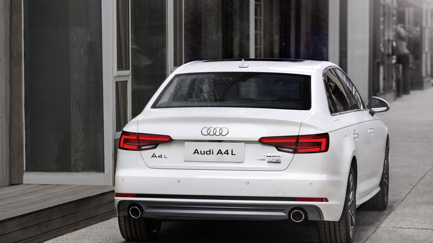 New Audi A4 L brings more comfort to Beijing