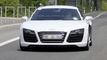 2013 Audi R8 facelift prototype spy photo