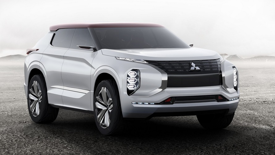 Mitsubishi Ground Tourer plug-in hybrid concept revealed for Paris
