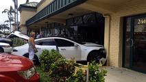 Tesla Model S crash - Lighthouse Point, Florida