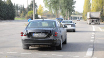 2012 Mercedes-Benz S-Class mule spied with test humanoid
