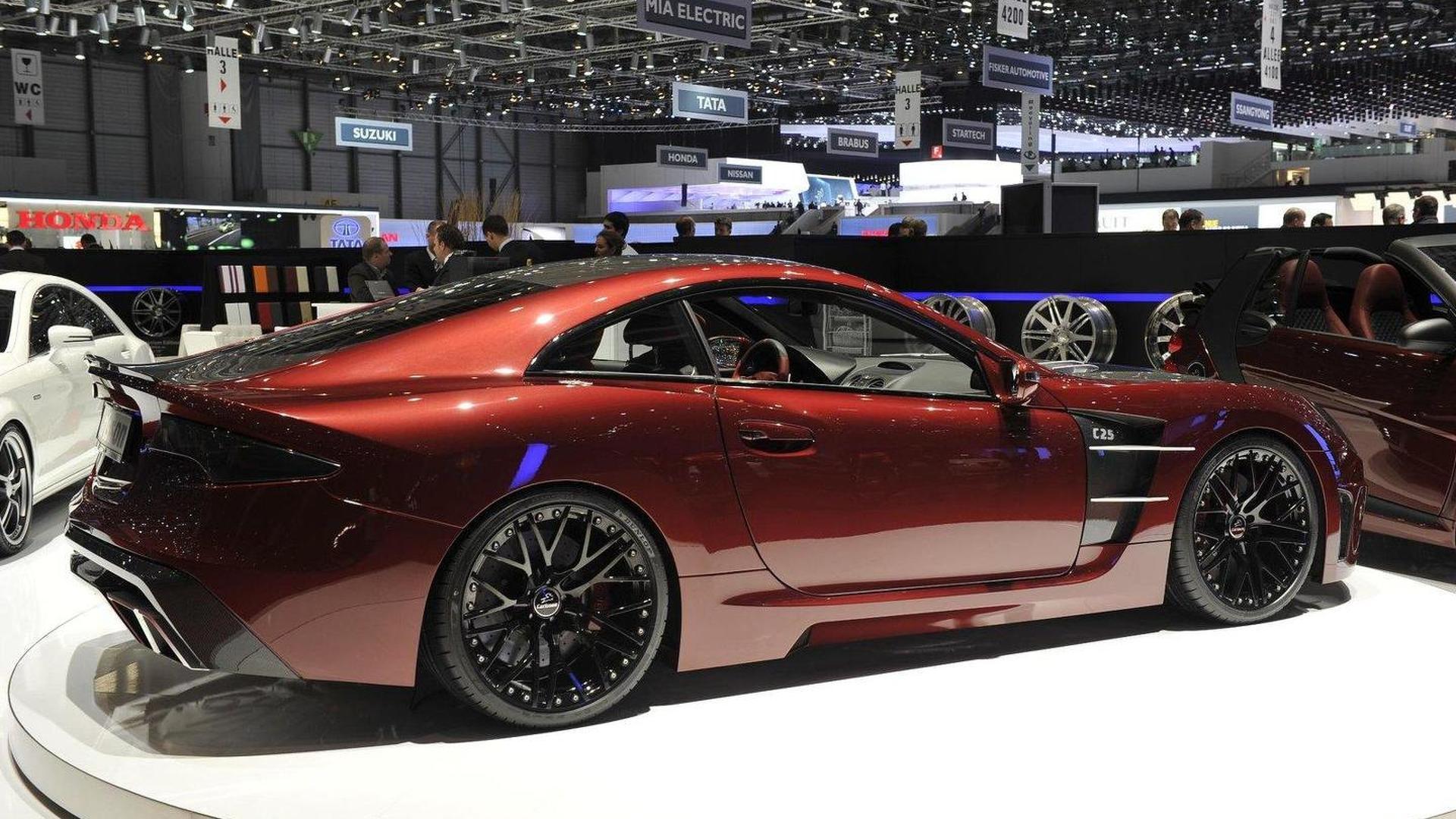 Carlsson C25 Royale Super GT world premiere in Geneva