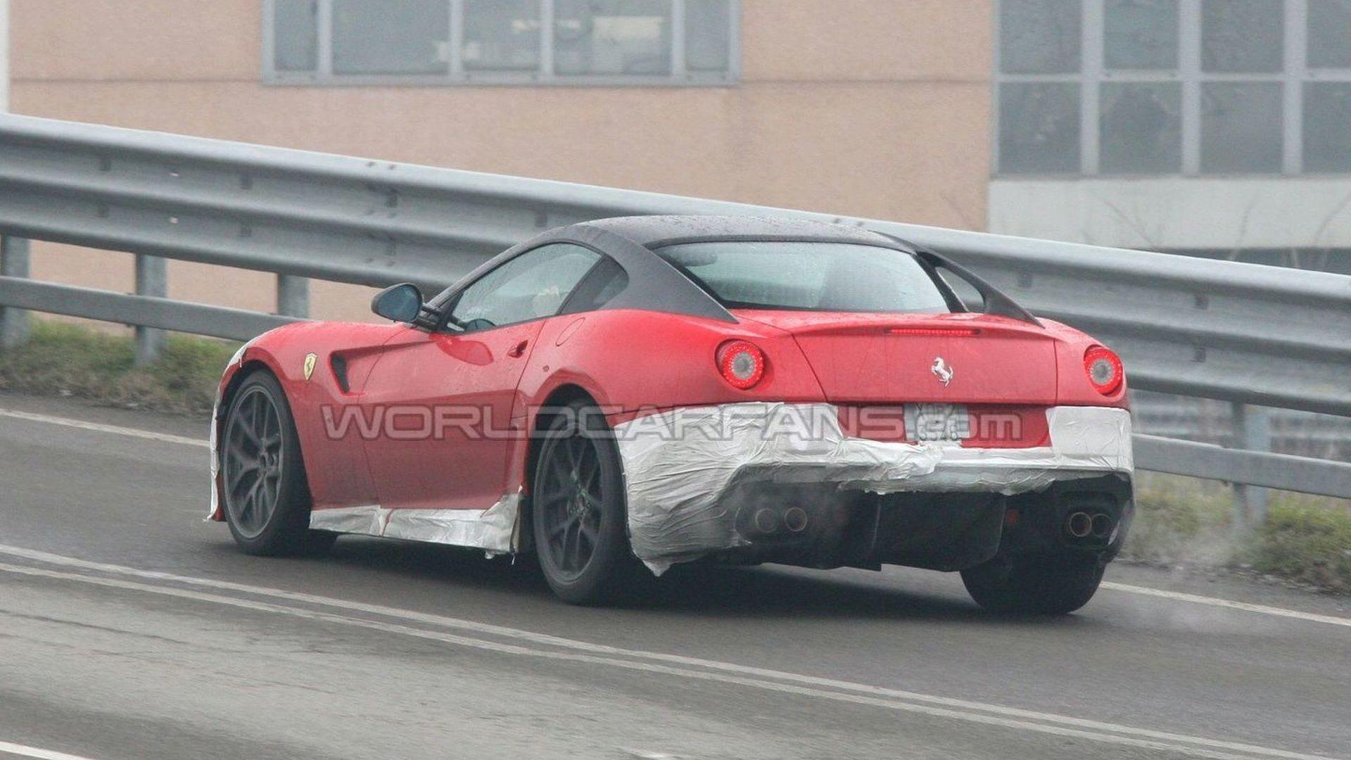 Alleged Ferrari 599 GTO Photos Look Sketchy [Video]