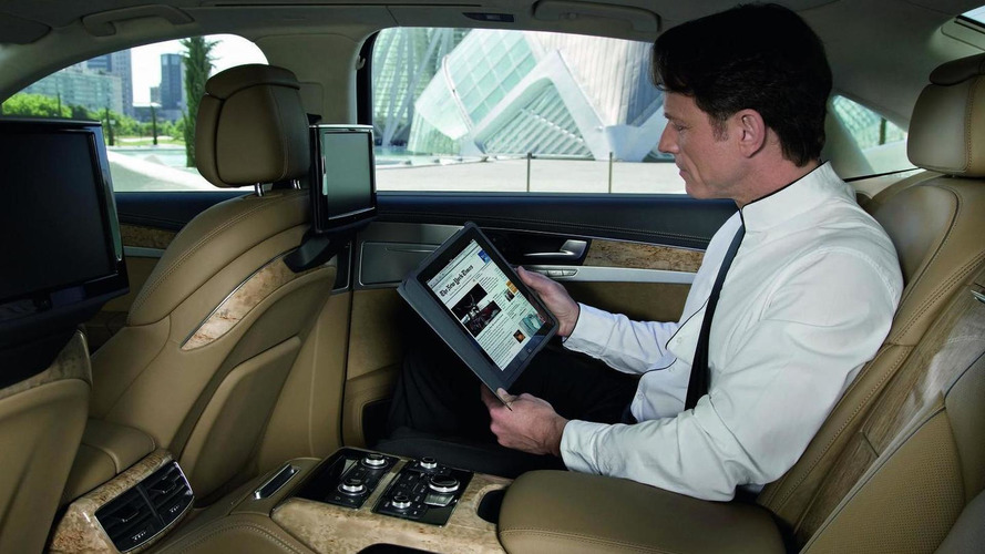 Audi A8 wireless access for iPads, laptops and netbooks