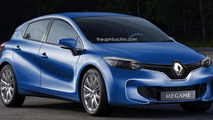 2016 Renault Megane rendered with Eolab concept influences