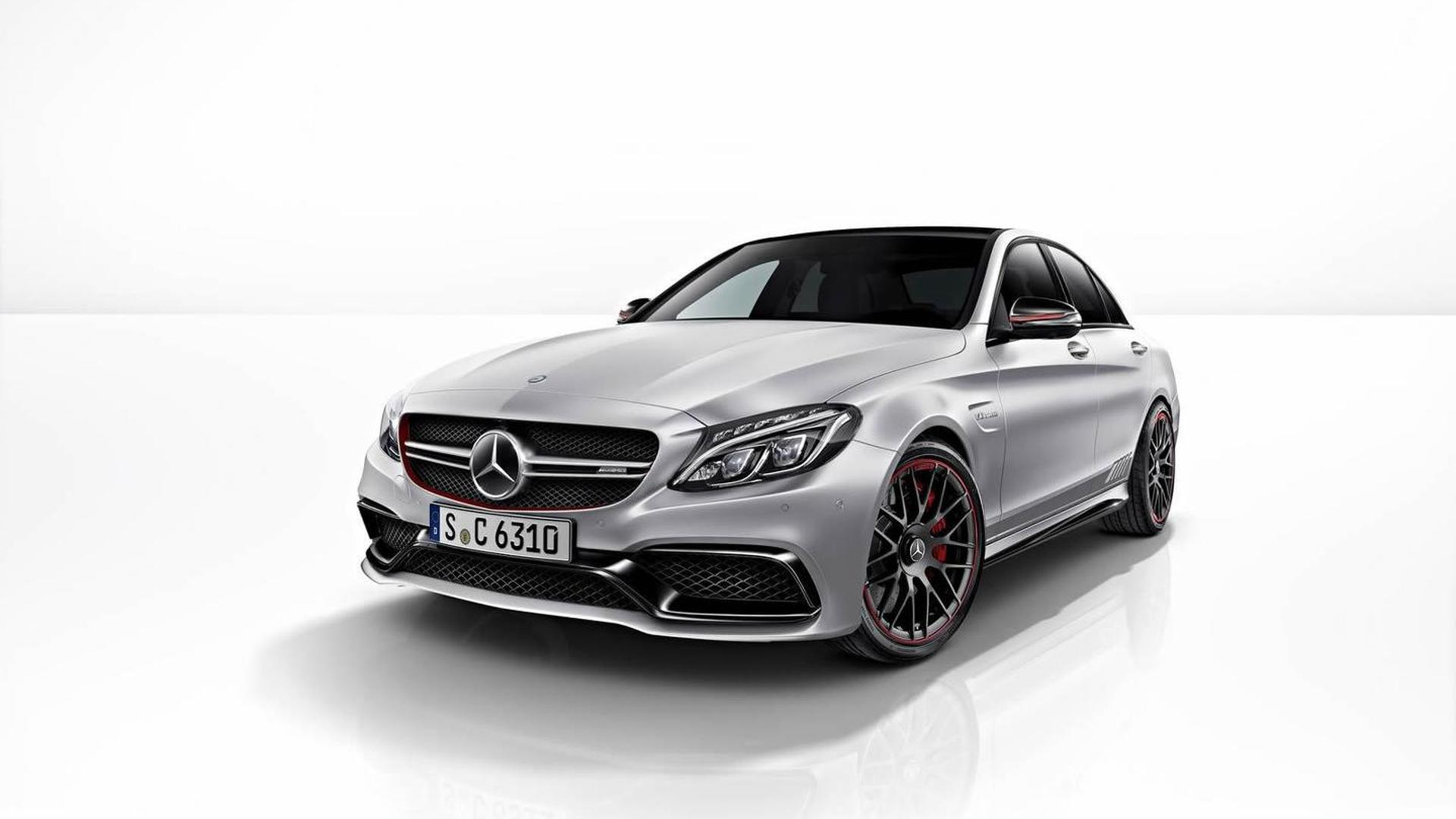 Mercedes-AMG C63 S Edition 1 detailed