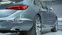 Buick details lighting system of Avenir concept