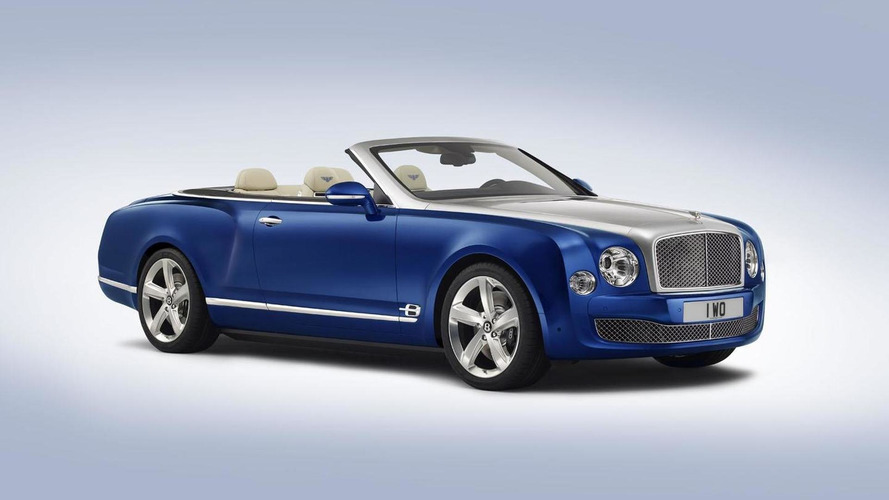 Bentley Mulsanne may lose its top for limited-run convertible
