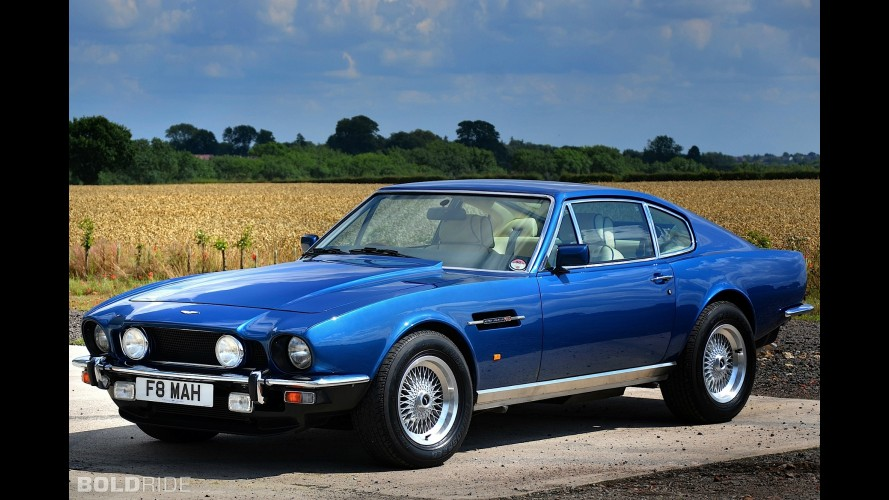 Aston Martin V8 Coupe