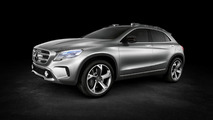 2013 Mercedes-Benz GLA Concept, previews BMW X1 and Audi Q3 competitor [video]
