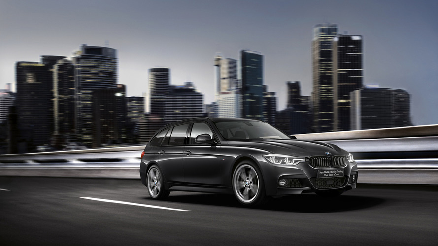 BMW 3-Series Touring Style Edge edition unveiled in Japan
