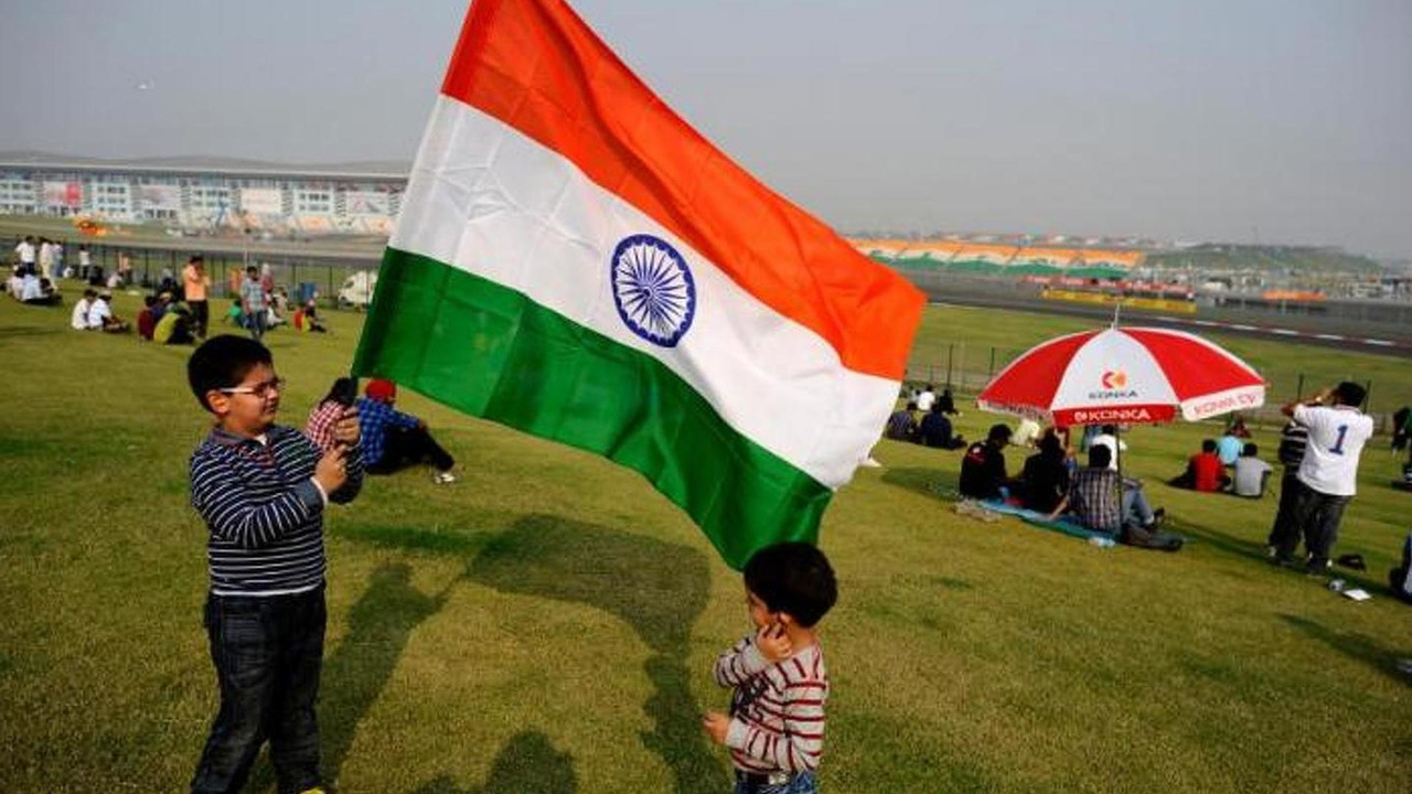 Circuit from Indian Grand Prix