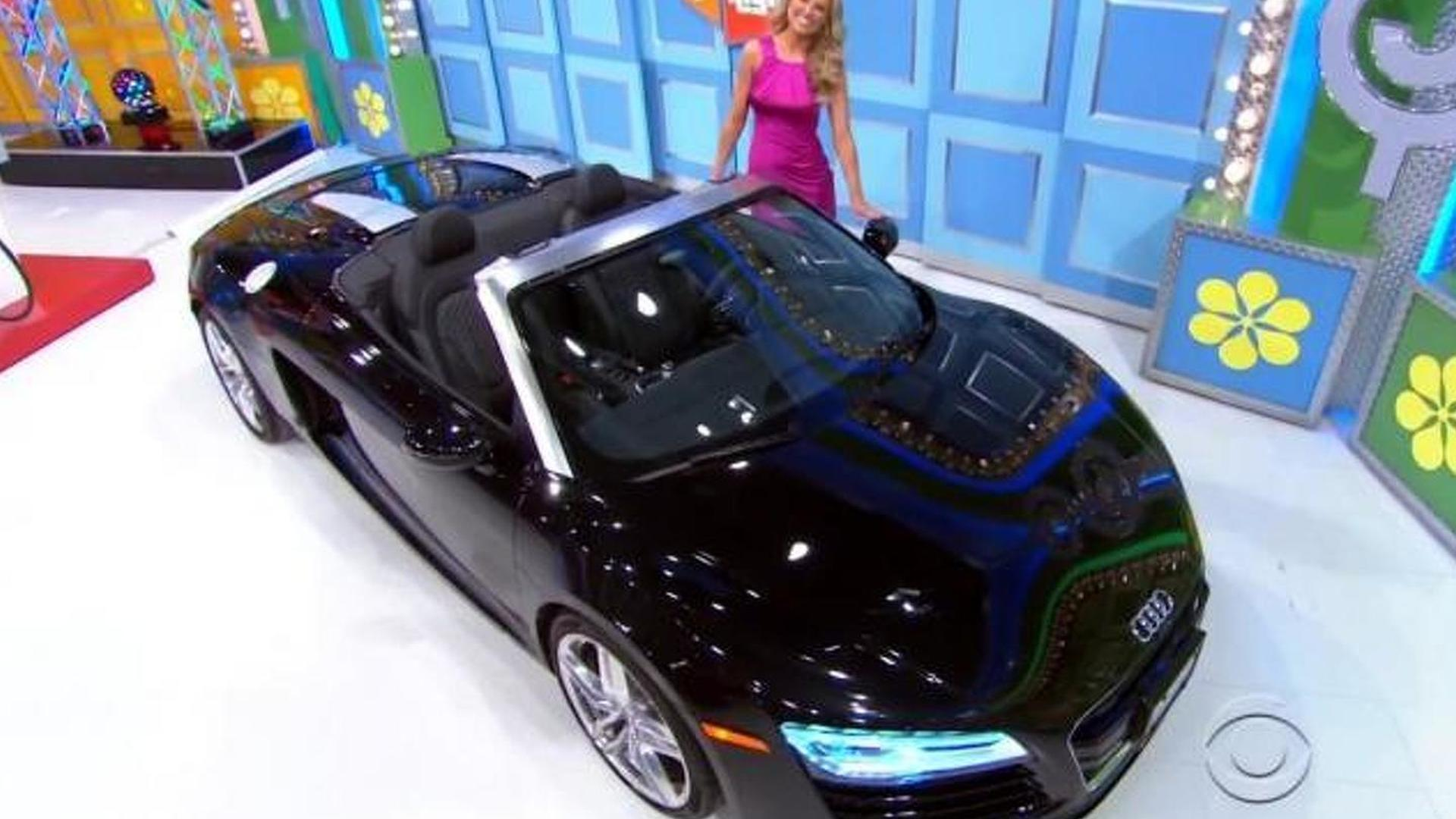 The Price Is Right player wins Audi R8 Spyder, seems utterly happy [video]