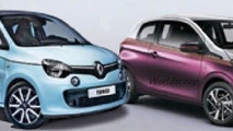 2014 Renault Twingo and Peugeot 108 break cover in double leak?