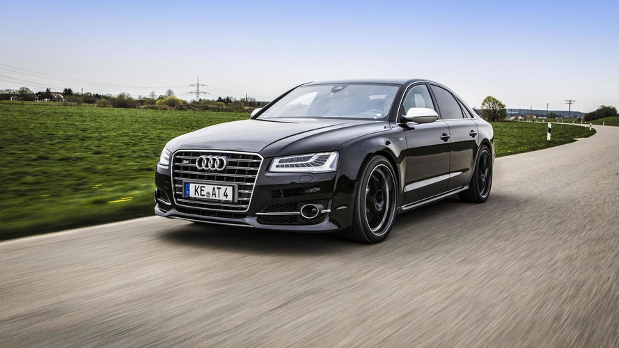 Audi S8 facelift upgraded to 675 HP by ABT