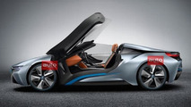 BMW i8 Spyder Concept photos leaked