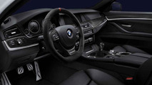 BMW 5 Series Sedan, BMW M Performance steering wheel alcantara with carbon fiber cover and shift knob 17.02.2012