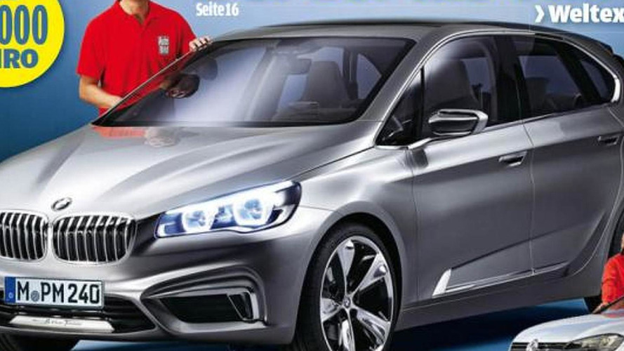 BMW 1-Series GT concept leaked?