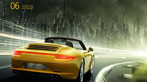 Porsche Calendar: Mega City 2013