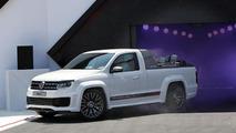 Volkswagen Amarok Power Pickup concept gets detailed