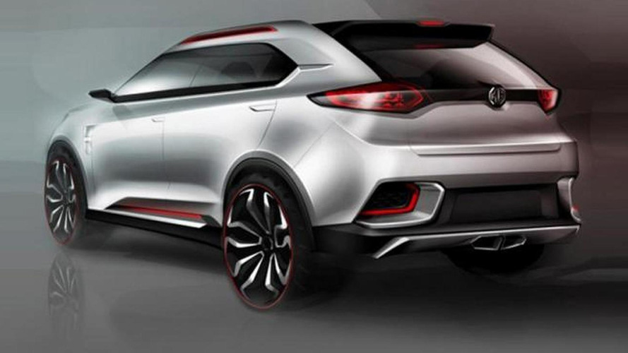 MG CS concept leaked, debuts in Shanghai