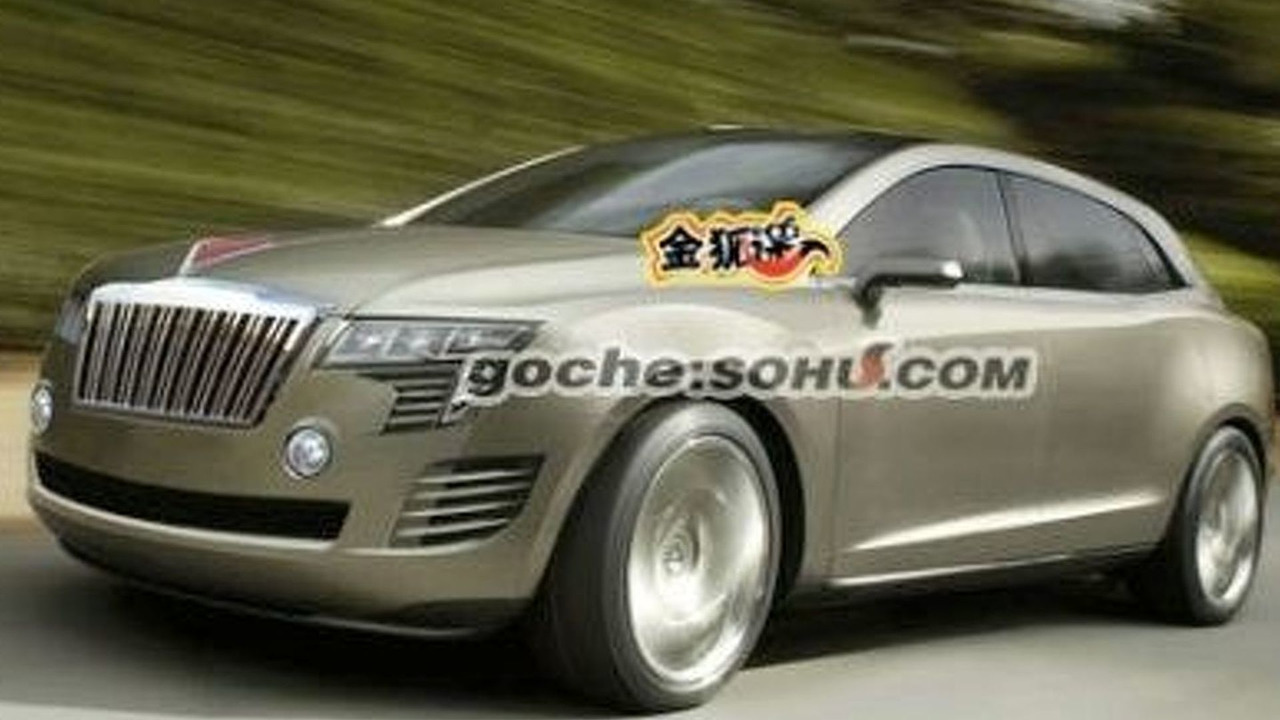 HonQi SUV Rendering from Lincoln MKT Concept