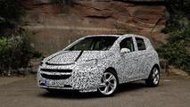 2015 Opel Corsa teaser photo
