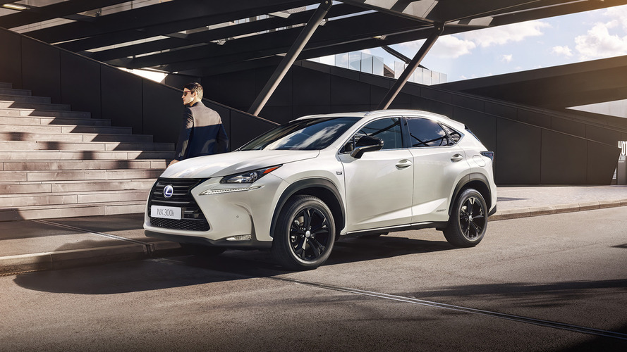 Lexus NX adds sporty trim model in Paris