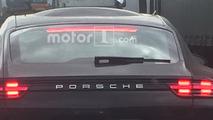 Porsche Panamera roof bubble spy