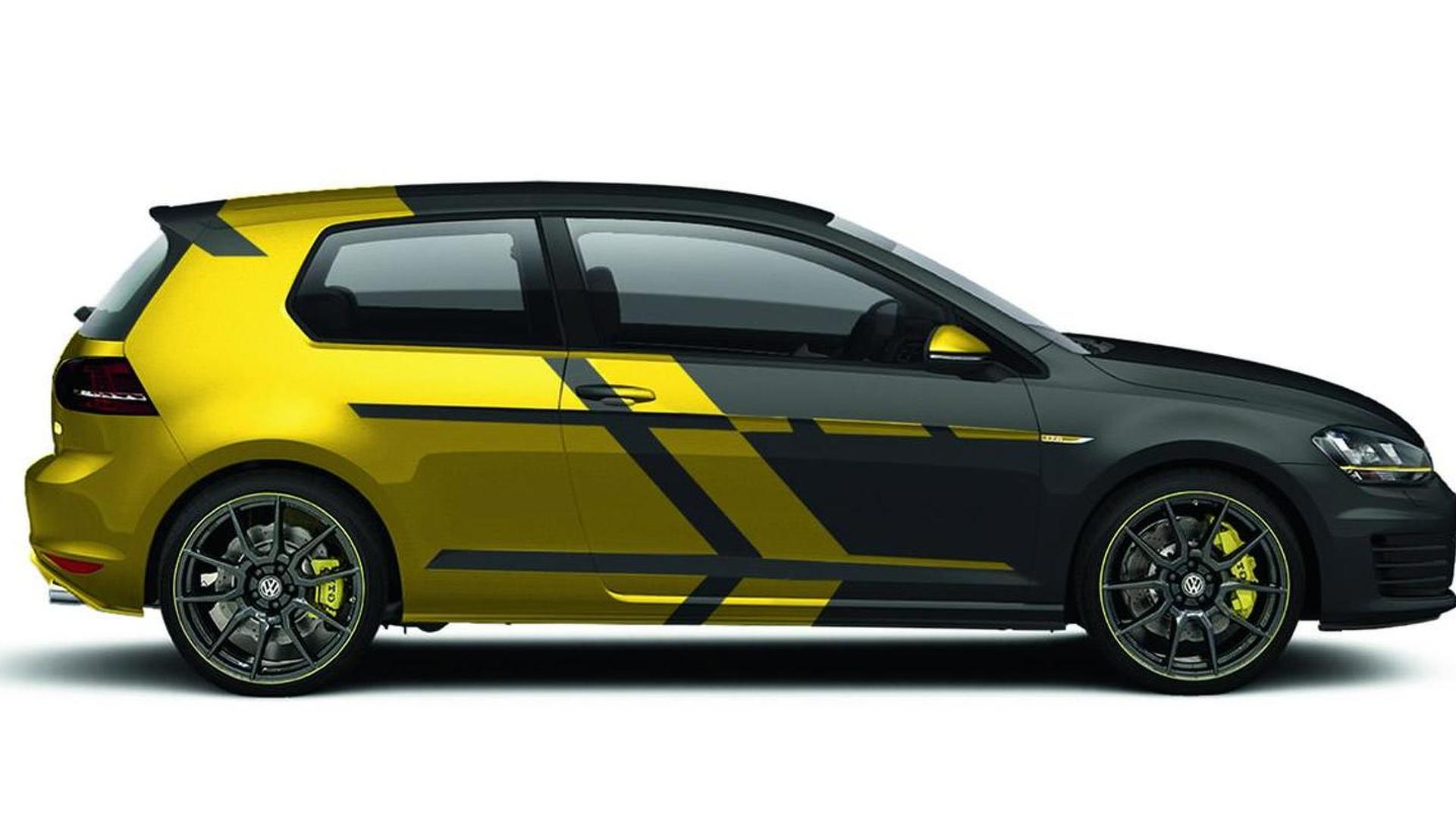 Volkswagen Golf GTI Performance one-off previewed ahead of Worthersee debut