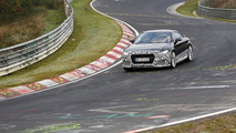 2016 Audi TT RS prototype returns in some beauty spy shots from the Nürburgring (20 pics)