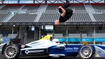 Leap Of Faith: Damien Walters Backflip Over Speeding Formula E Car