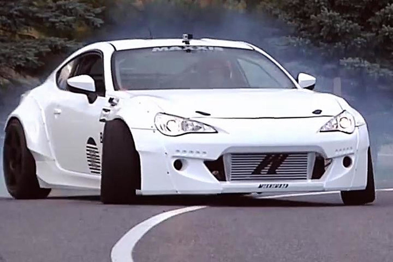 Watch This 600HP Scion FR-S Shred a Mountain