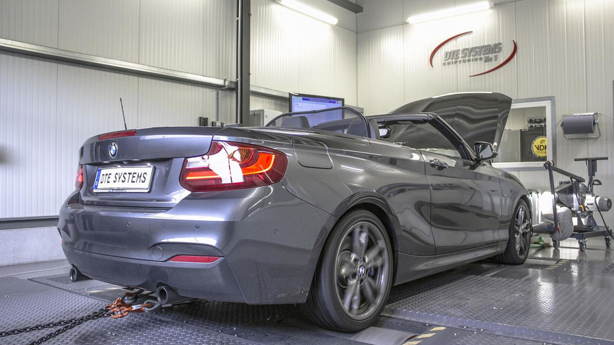 BMW M235i Convertible by DTE-Systems gains an extra 40 PS and 70 Nm