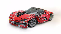 Des kits Ferrari en Meccano pour Noël