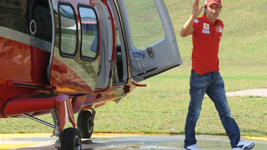 Ferrari leaves door open for Badoer exit