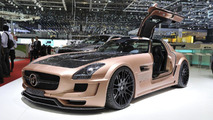 HAMANN HAWK based on Mercedes SLS AMG live in Geneva - 02.03.2011