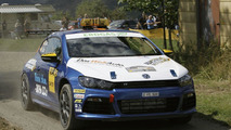 Volkswagen Scirocco R makes rally debut