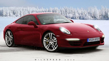 2011 Porsche 991 Rendering Based Off WCF Spy Photo