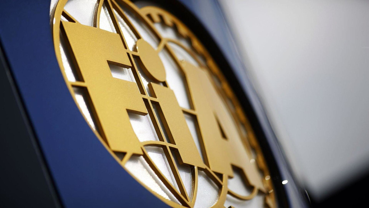 FIA logo 30.06.2013 British Grand Prix
